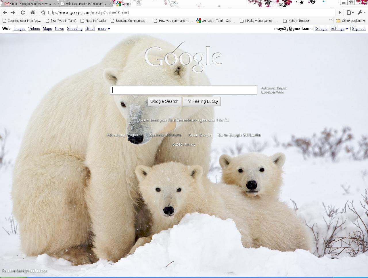 background for google
