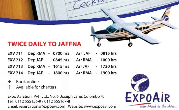 Jaffna Flights to Resume