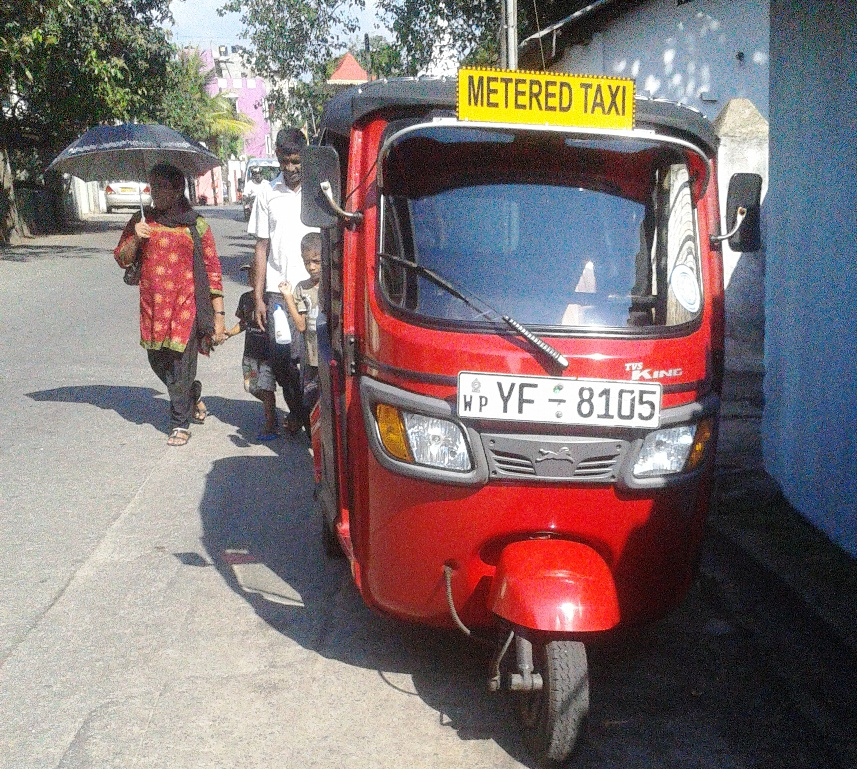Rise of Meter Tuk in Colombo