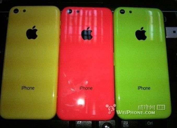 Budget iPhone leaked images
