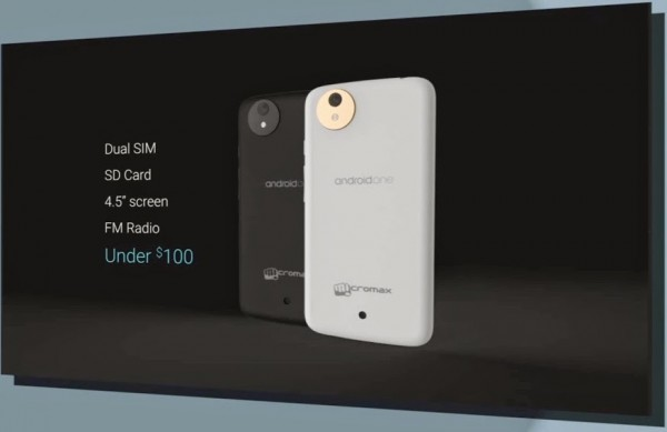 Android One – An Android Mobile for $100